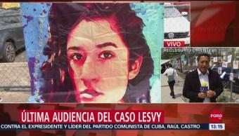 FOTO: Última Audiencia Caso Lesvy Quien Fue Hallada Muerta UNAM