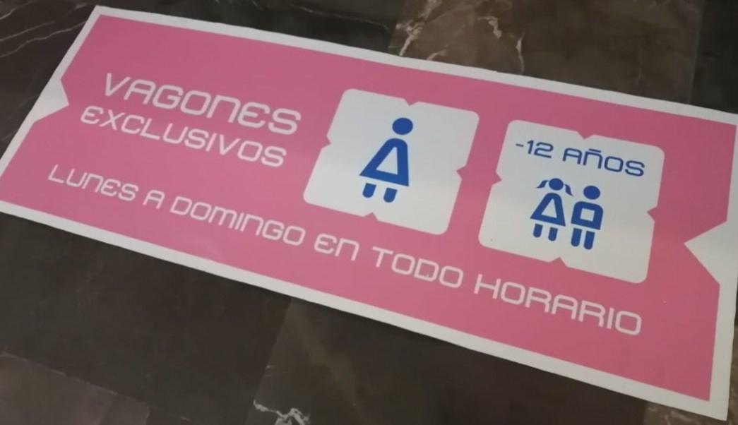 vagones exclusivos para mujeres en el metro (1)