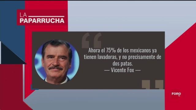 FOTO: Vicente Fox Su Mala Memoria