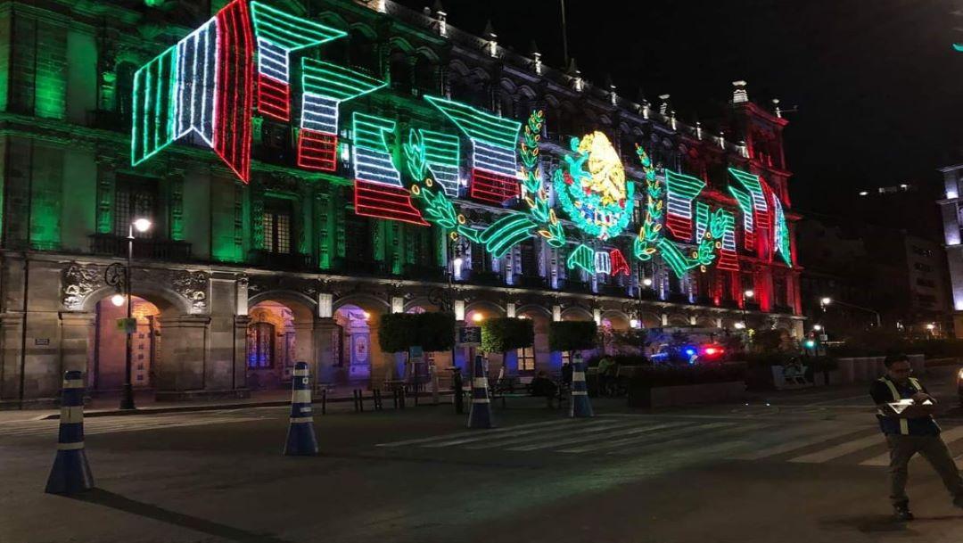Foto Vigilarán 5 mil policías festejos en la zona del Zócalo de la CDMX 9 septiembre 2019