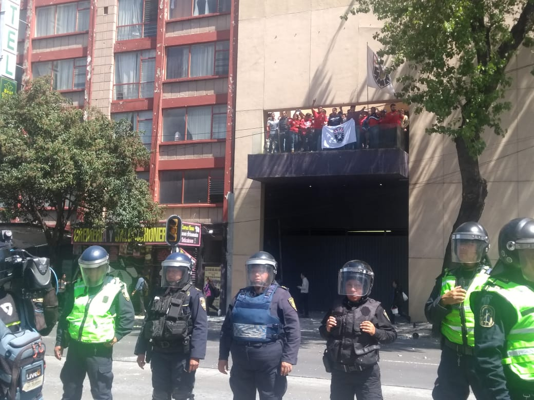 protesta sme insurgentes norte
