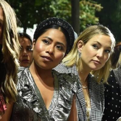 Yalitza Aparicio aparece en el New York Fashion Week