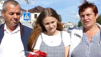 Foto:yulia-gorina-joven-extraviada-por-su-padre-en-bielorrusia