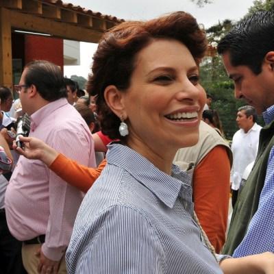 Karime Macías, esposa del exgobernador de Veracruz, Javier Duarte