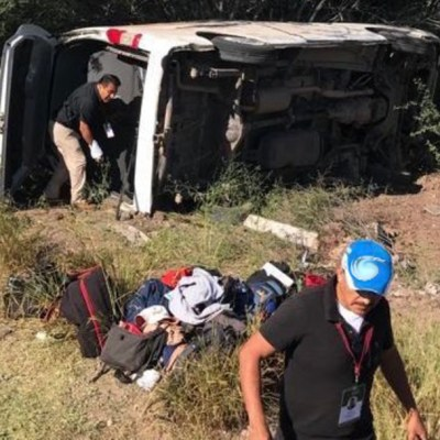 Lamenta Presidencia accidente de reporteros en Sonora