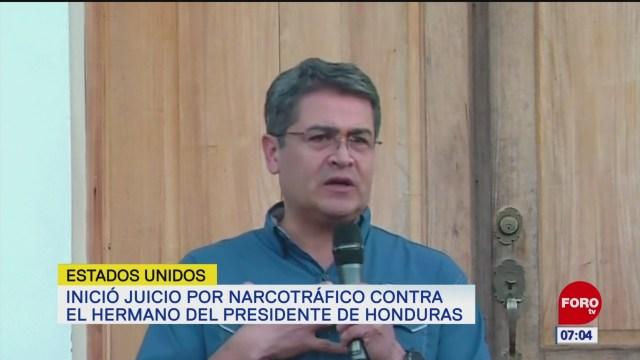 Acusan al presidente de Honduras de recibir dinero de 'El Chapo'