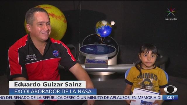 Adhara, niña mexicana superdotada que quiere ser astronauta