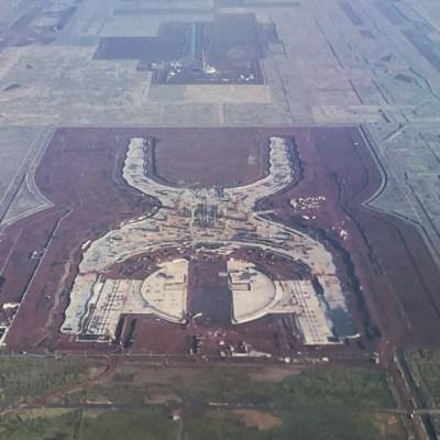 Se inunda aeropuerto abandonado en Texcoco; imágenes exclusivas