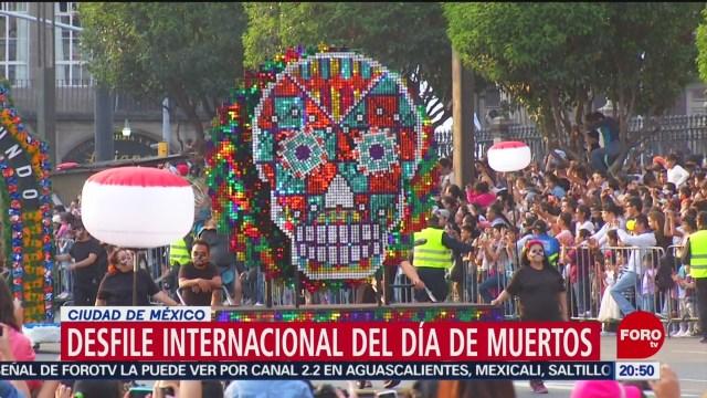 Foto: Alistan Desfile Día Muertos Cdmx 9 Octubre 2019
