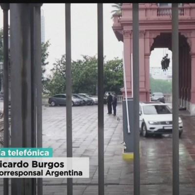 Alistan transición presidencial en Argentina
