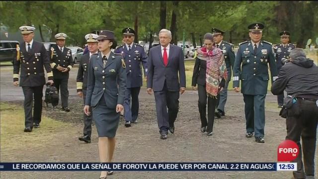 AMLO activó alarma en acto simbólico de arranque en Santa Lucía
