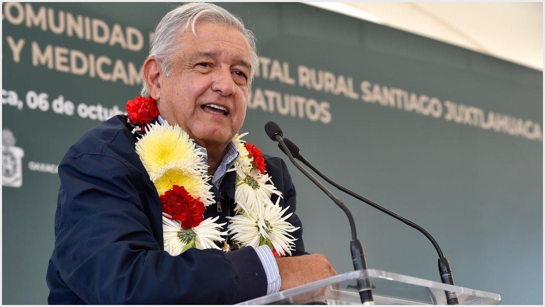 Foto: AMLO cuestionó a funcionarios que se ampararon contra reducción de sueldos, 6 de octubre de 2019 ( PRESIDENCIA /CUARTOSCURO.COM)