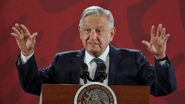 Foto: Andrés Manuel López Obrador, presidente de la República, durante la conferencia diaria matutina para atender preguntas de medios de comunicación, el 22 de octubre de 2019 (Foto: Andrea Murcia/Cuartoscuro.com)