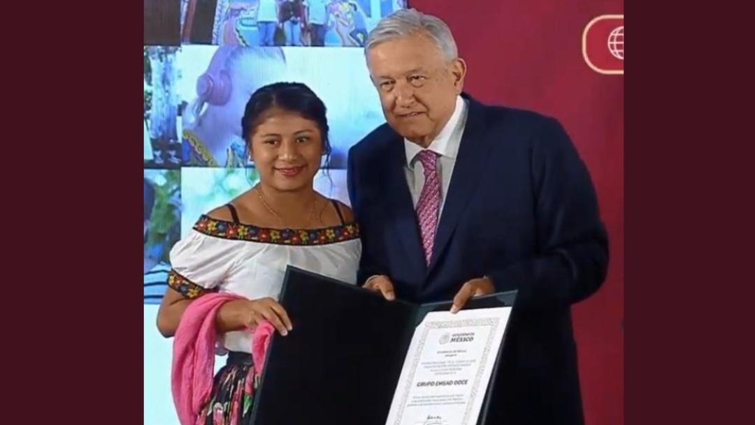Foto: Gobierno de AMLO entrega Premio Nacional de la Juventud