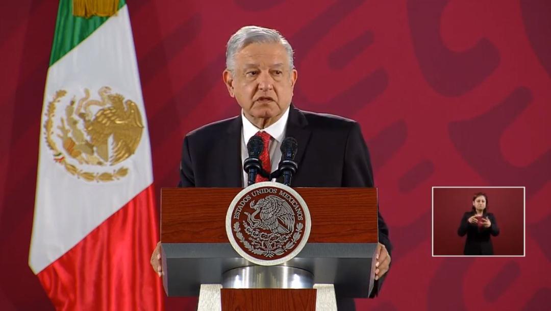 El presidente de México, Andrés Manuel López Obrador., 31 octubre 2019