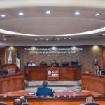 FOTO AMLO: En cuanto se publique 'Ley Bonilla' de Baja California, se impugnará para turnarla a la SCJN; en la imagen, el Congreso estatal (Cuartoscuro/Sergio Caro)