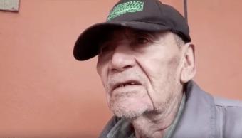 Foto Abandonan a anciano de 80 años en la Iglesia de San Hipólito 29 octubre 2019