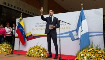 Foto: Guaidó también lamentó el hecho, 12 de octubre de 2019, (AP)