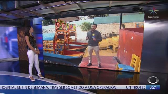 Aplican nuevas reglas de operación en embarcaderos de Xochimilco