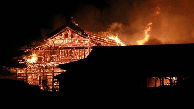 Foto: Arde castillo japonés Shuri de Okinawa, patrimonio de la humanidad, 31 de octubre de 2019