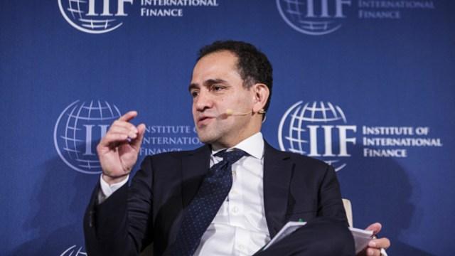 Foto: El secretario de Hacienda y Crédito Público, Arturo Herrera, en el Instituto de Finanzas Internacionales, 18 octubre 2019