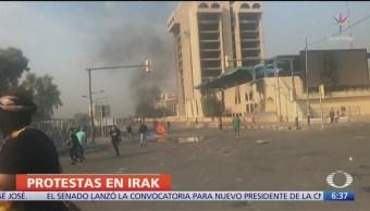Asciende a 40 la cifra de muertos por protestas en Irak