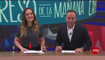 Así arranca Expreso de la Mañana con Esteban Arce del 9 de octubre del 2019
