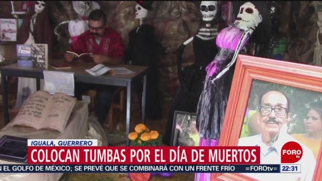 FOTO: Así se viven los festejos del Día de Muertos en Guerrero, 27 octubre 2019