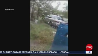 Atacan a policías estatales en Nuevo Laredo, Tamaulipas