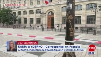 Ataque contra policías en París fue perpetrado por un funcionario