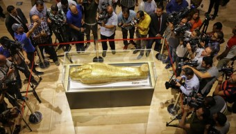 Ataúd egipcio recuperad