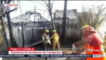 FOTO: Aumentan incendios durante Día de Muertos en Campeche, 25 octubre 2019