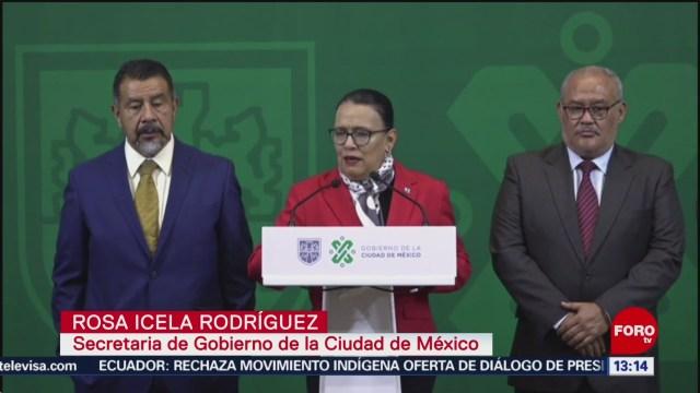 FOTO: Autoridades de CDMX hablan del incremento de crímenes contra indigentes, 13 octubre 2019