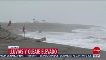 FOTO: Autoridades Colima Alertan Población Por Posibles Desbordamientos Río