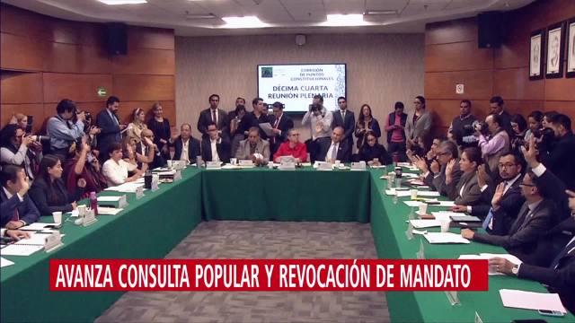 Foto: Revocación Mandato Consulta Popular Cámara Diputados 29 Octubre 2019
