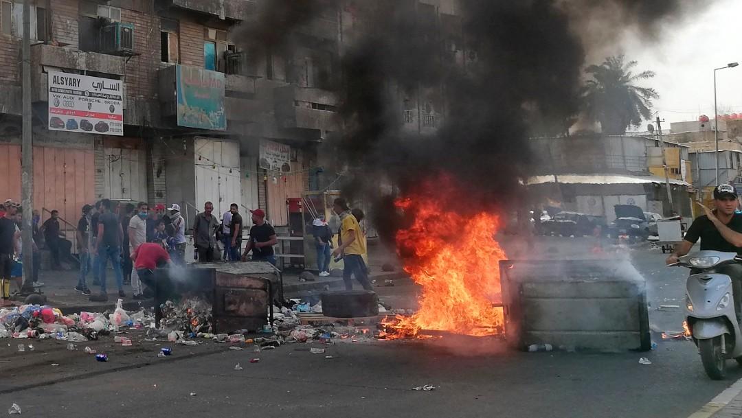 Foto: Manifestaciones en Irak, 2 de octubre de 2019, Irak