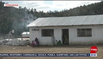 FOTO: Bajas temperaturas en Chihuahua por del frente frío número cuatro, 12 octubre 2019
