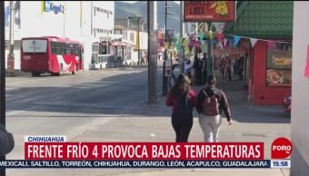 FOTO: Bajas temperaturas en Chihuahua y Nuevo León por del frente frío número cuatro, 12 octubre 2019