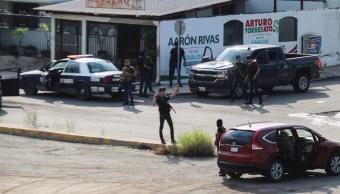 Balacera en Culiacán, Sinaloa, 17 octubre