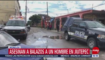 FOTO: Balacera Jiutepec deja un muerto dos heridos