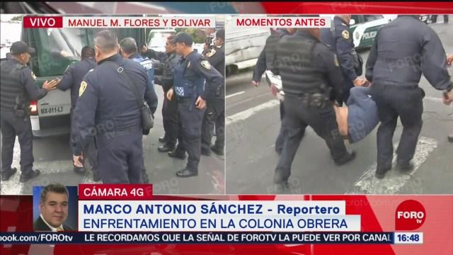 FOTO: Balacera Colonia Obrera Tras Detención Asaltantes