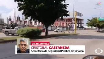 Foto: Cristóbal Castañeda, secretario de Seguridad Pública de Sinaloa habló en entrevista para En Punto acerca de los enfrentamientos suscitados la tarde de este jueves en Culiacán