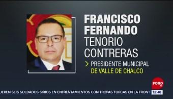 Balean a presidente municipal de Valle de Chalco