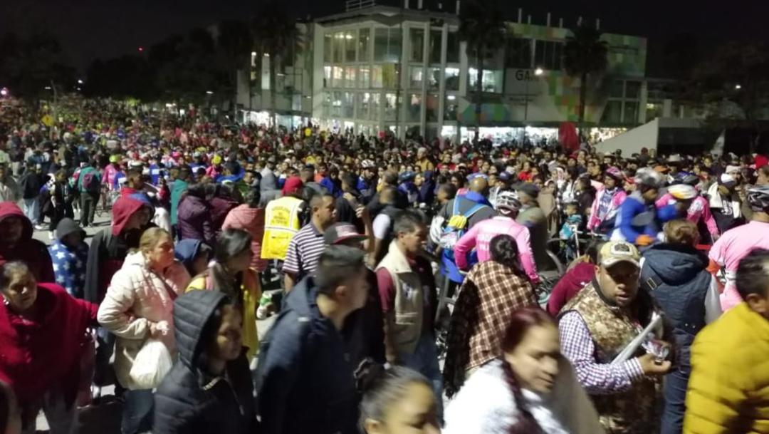 Foto: Miles de peregrinos de Morelia y Guanajuato llegan a la Basílica de Guadalupe, 11 octubre 2019