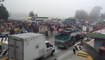 Foto: Recicladores realizan varios bloqueos en los accesos a la Ciudad de México, 24 octubre 2019