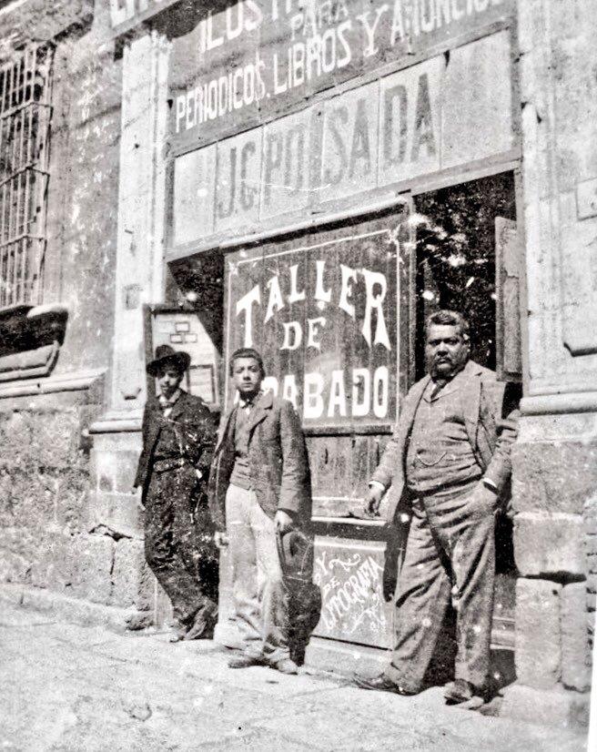 José Guadalupe Posada Taller Moneda