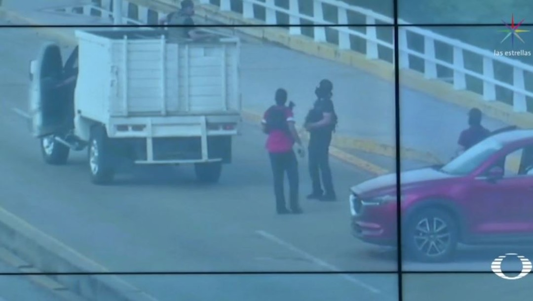 Foto VIDEO: Cámaras del C4 captan bloqueos en Culiacán