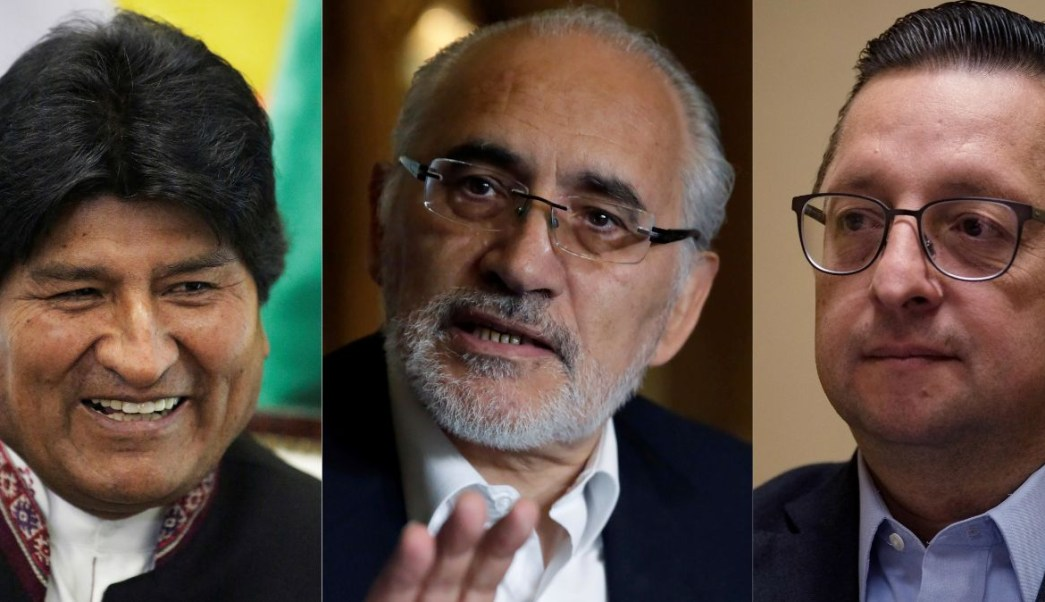 Candidatos presidenciales en Bolivia, domingos erá la elección