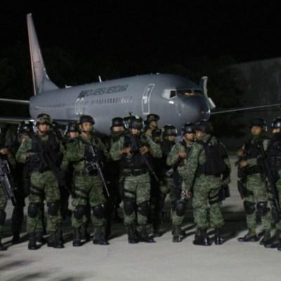 Llegan 230 elementos de la Sedena tras balacera en Culiacán, Sinaloa