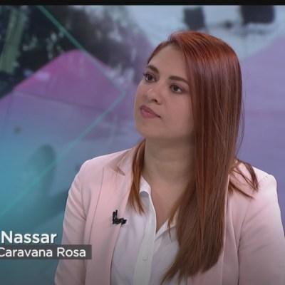 'Caravana Rosa' atiende a mujeres en terminales de autobuses
